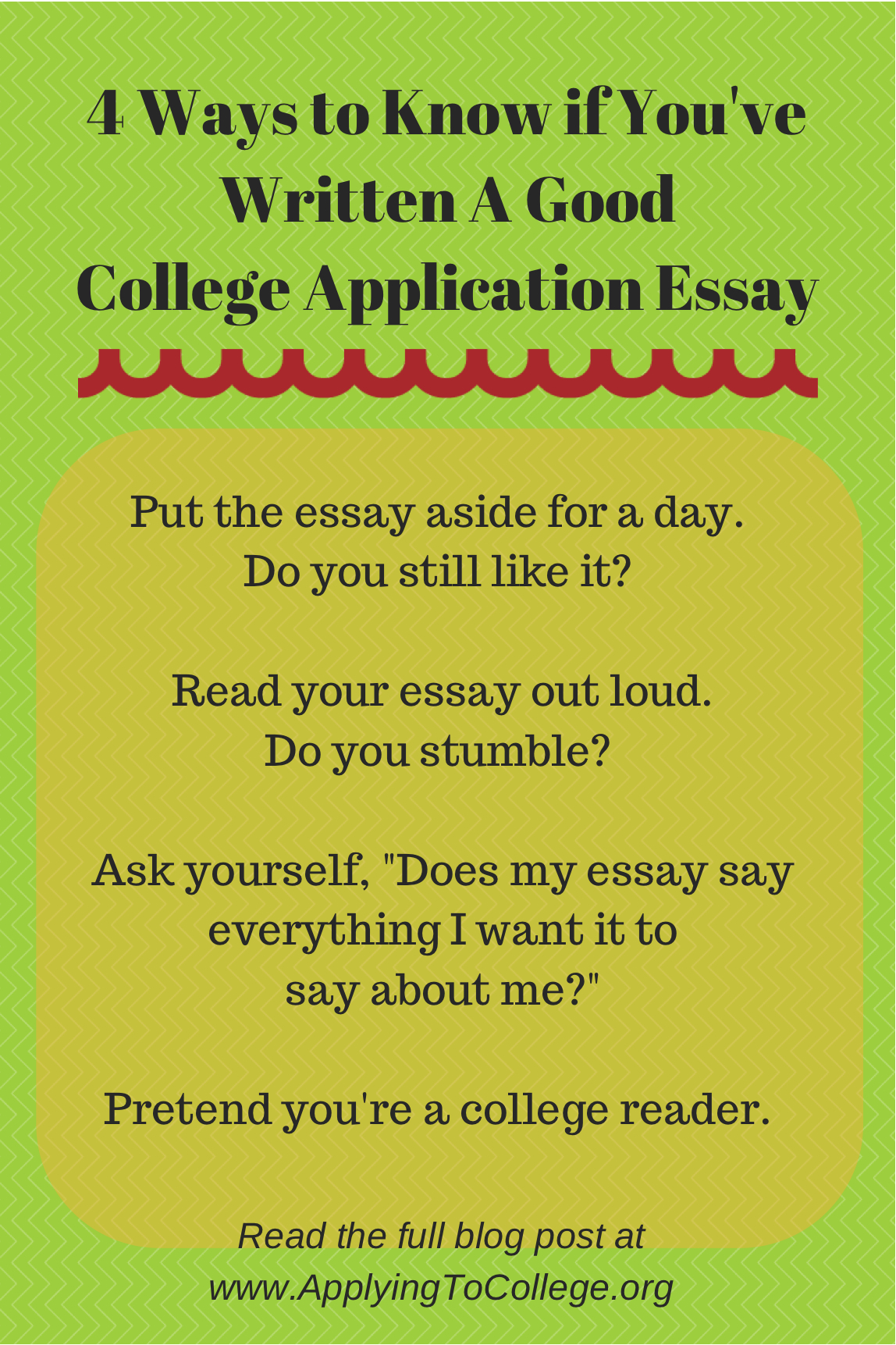 015 Essay Example Read My To Me 4ways Know If Youve Written Unique And Tell It's Good Full
