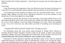015 Essay Example Sample Teaching Evaluation Shocking Argument