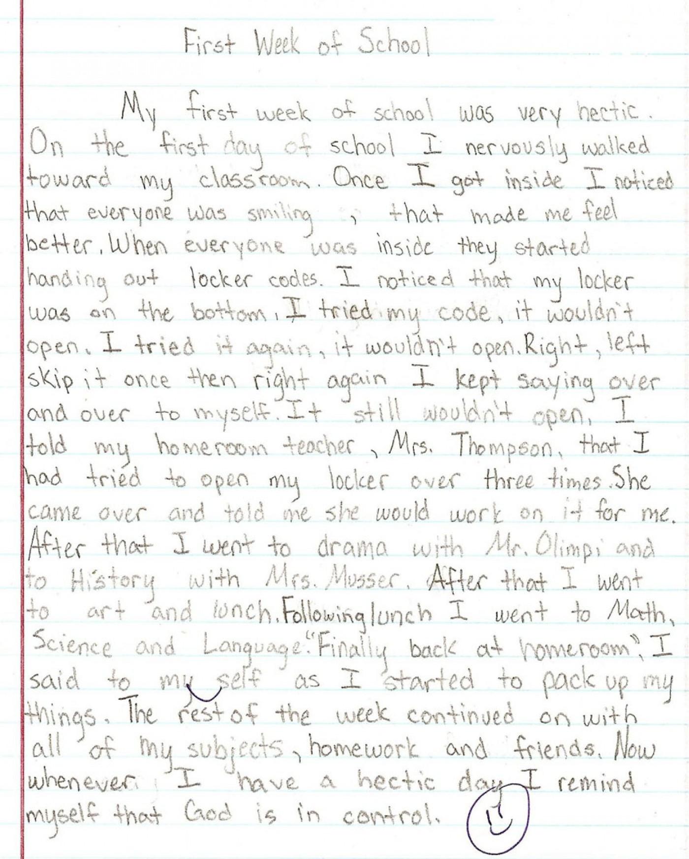 015 Essay Example Sample1a 8th Grade Phenomenal Topics Narrative Us History Questions 1400