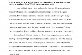 015 Essay Example Scholarship Examples About Career Goals Free Pdf Format Download How Will College Help Achieve Your Sample Imposing