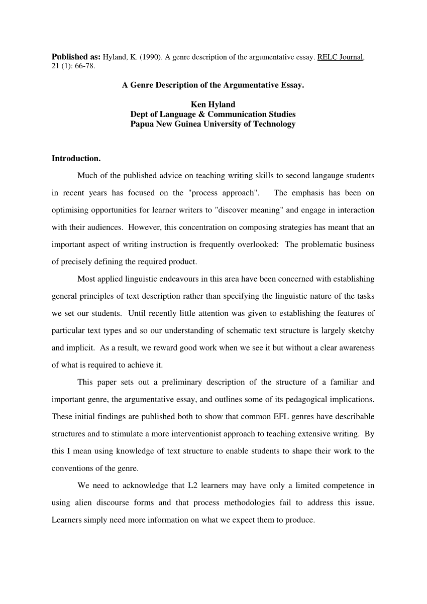 015 Essay Example Structure Of An Argumentative Breathtaking Outline (advanced Module) Full