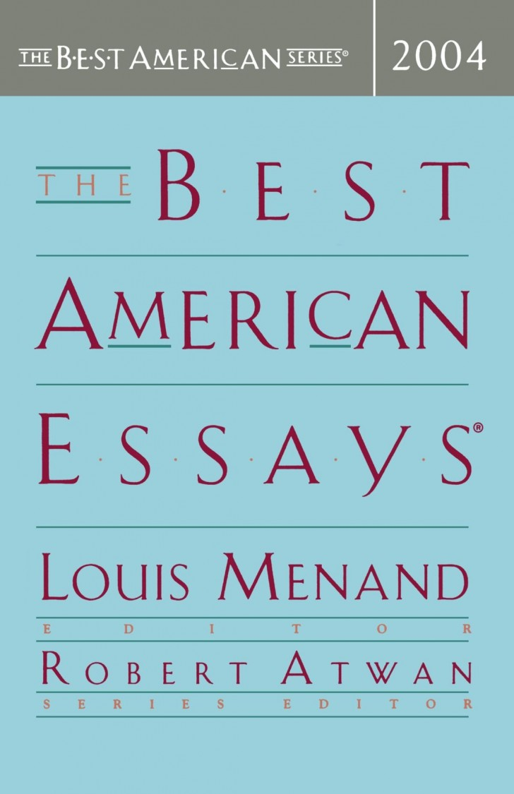 015 Essay Example The Best American Essays Wonderful 2013 Pdf Download Of Century Sparknotes 2017 728