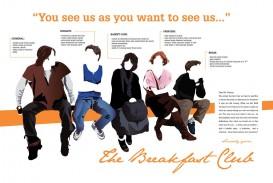015 Essay Example The Breakfast Breathtaking Club Scene Introduction Analysis