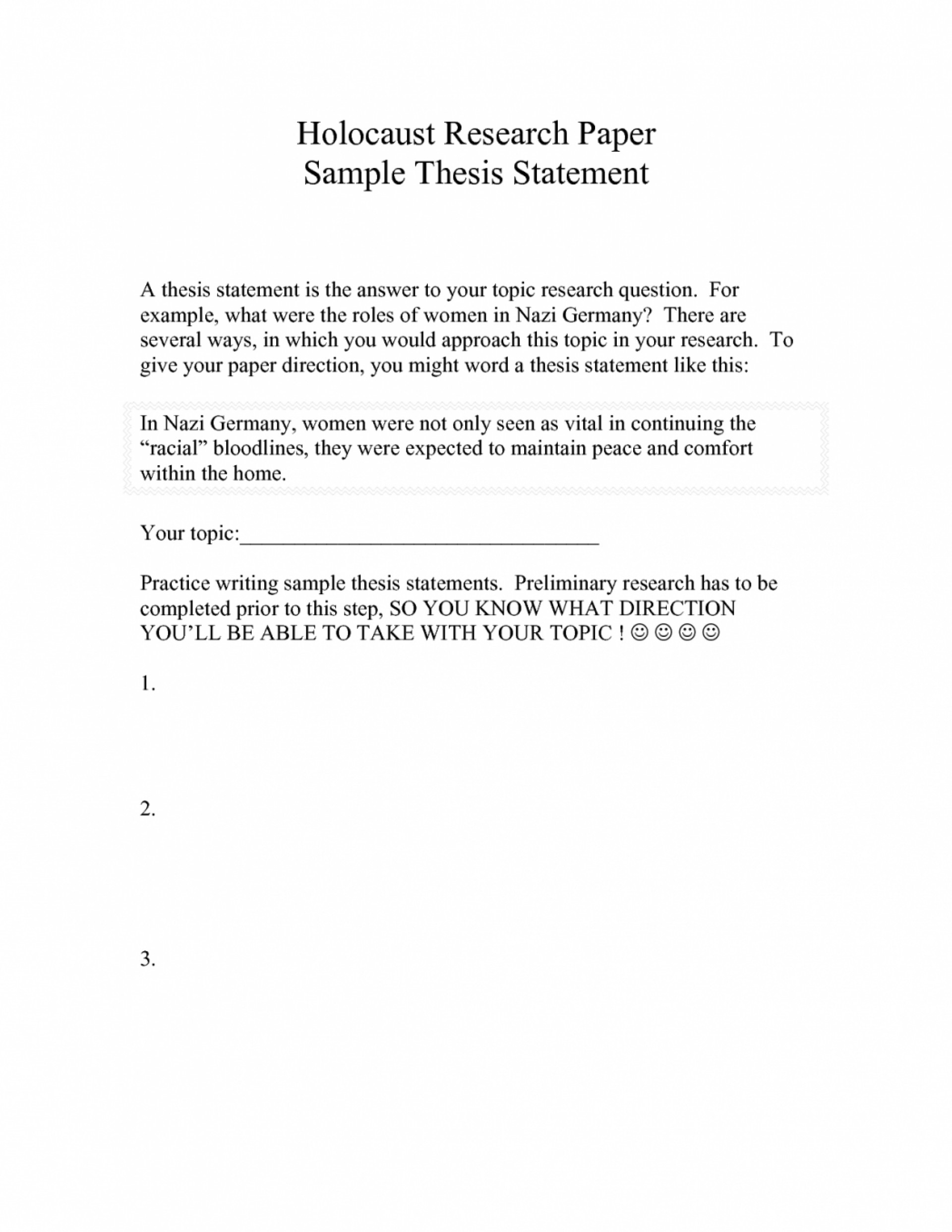 015 Essay Example Thesis Statement For Narrative Of Dialogue Free College Research Paper Gc4 Examples Short Personal Staggering How To Write A The Should Be Created During Brainly 1920