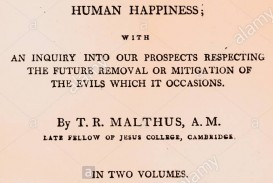 015 Essay Example Thomas Malthus On The Principle Of Population Title Page Written By Robert An English Cleric And Stupendous After Reading Malthus's Principles Darwin Got Idea That Ap Euro