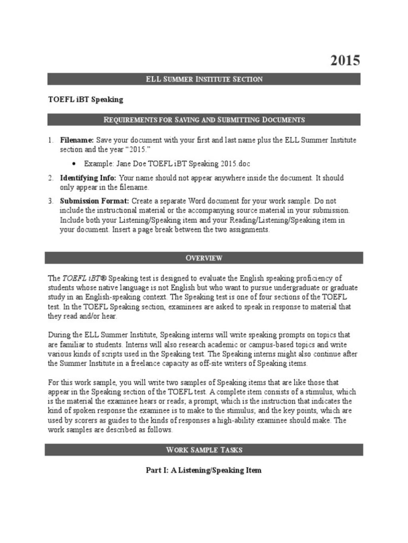 015 Essay Example Toefl Ibt Speaking 58517a89b6d87f725d8b5846 Topics Striking 2015 Large