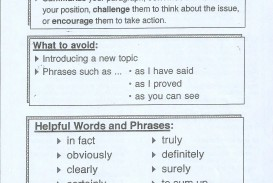 015 Essay Example Ways To Conclude Wonderful An End Without Saying In Conclusion How Argumentative Examples