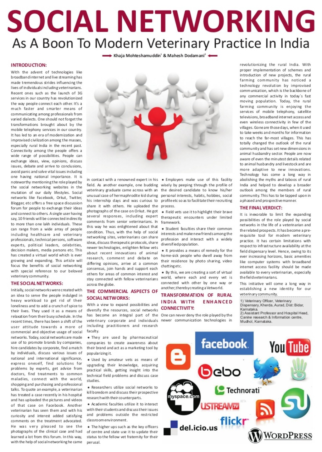 015 Essay Examplesocialnetworking Phpapp02 Thumbnail Pros And Cons Of Social Media Fantastic Pdf Large