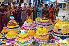 015 Essay On Bathukamma In Telugu Telangana Flower Festival 4resize18002c1000 Dreaded Short Language 320
