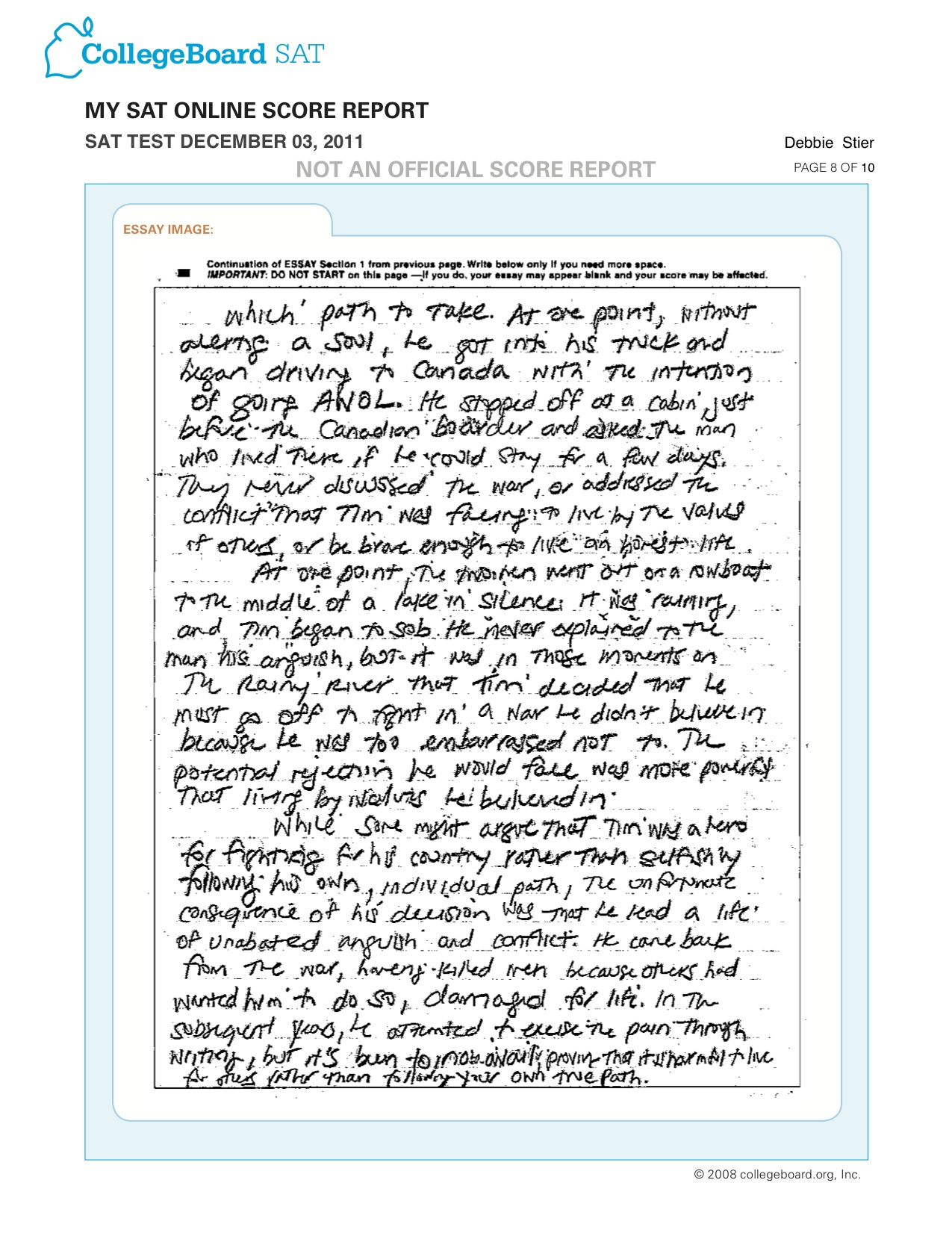 015 Essay Pg Example College Stirring Length Normal Personal Common App Full