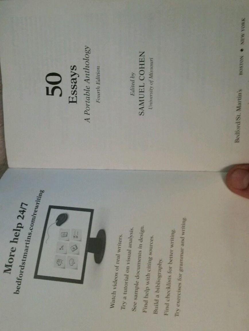 015 Essays Portable Anthology 1 691ffa7614e18dc0217250786658c36a Essay Shocking 50 Samuel Cohen Pdf 5th Edition A 4th Free Download
