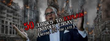 015 Explanatory Essay Topics Fascinating Informative For College High School Prompt 4th Grade 360