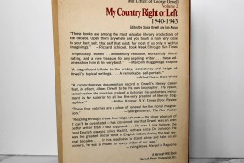 015 George Orwell Essays Mycountryleft 2 1200x1200v1546514406 Essay Frightening Everyman's Library Summary Bookshop Memories