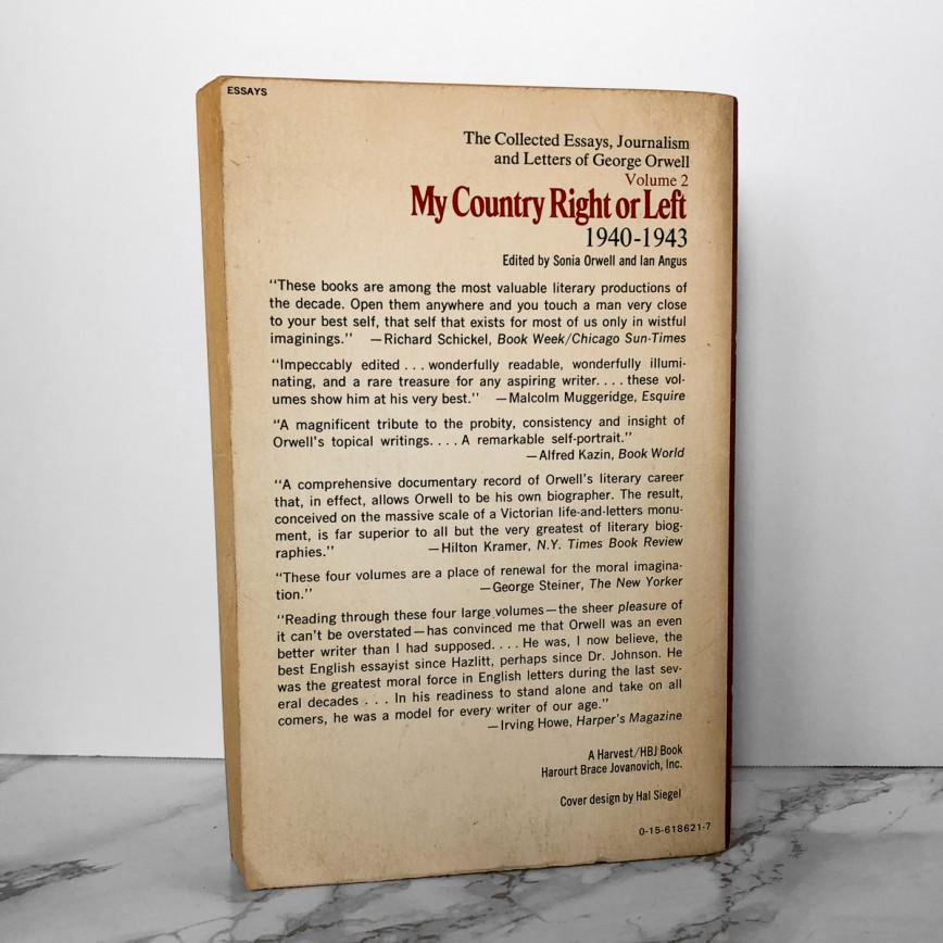 015 George Orwell Essays Mycountryleft 2 1200x1200v1546514406 Essay Frightening Everyman Summary Penguin Contents