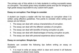 015 How To Write This I Believe Essay Easy Essays Calam Atilde Copy O On Corruption Effective Samples Good Topics Template 1048x1483 Fantastic A What Things 320