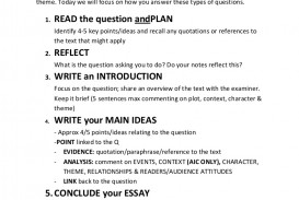 015 Howtoanswerthe20markquestion Phpapp02 Thumbnail Essay Example Impressive Response Format Definition Conclusion