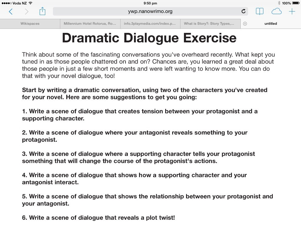 015 Image6 Essay Example How To Write Dialogue In Singular An Between Two Characters Narrative Large