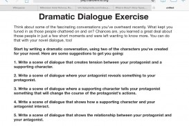 015 Image6 Essay Example How To Write Dialogue In Singular An Between Two Characters Narrative