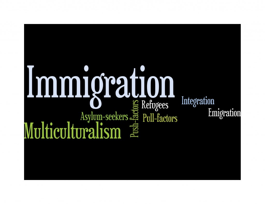 015 Immigration20wordle Essay Example About Marvelous Immigration In Canada Causes The United States Large