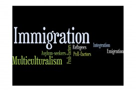 015 Immigration20wordle Essay Example About Marvelous Immigration In Canada Causes The United States