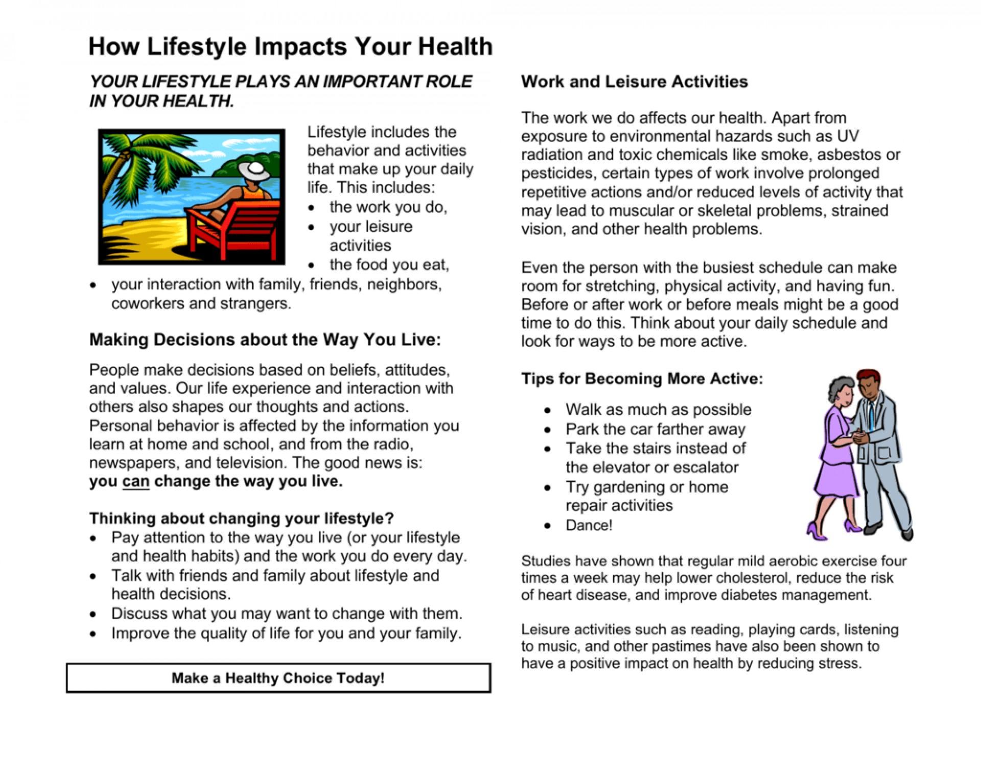 015 Lifestyle And Cardiac Health Essay Example 008690179 1 Beautiful 1920