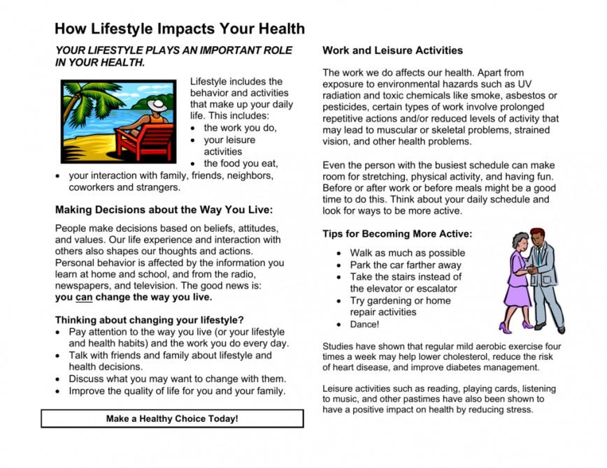 015 Lifestyle And Cardiac Health Essay Example 008690179 1 Beautiful