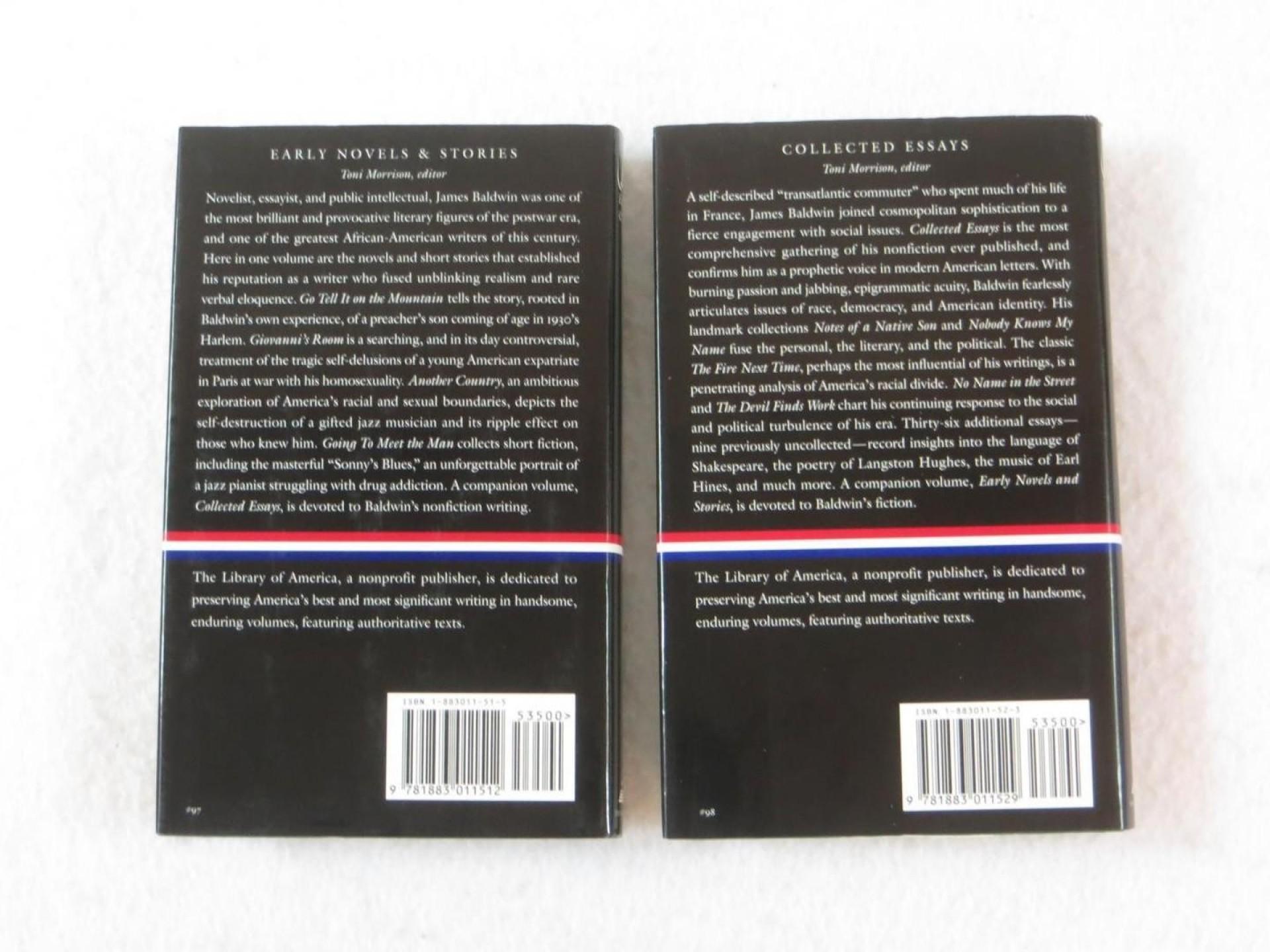 015 Lot James Baldwin Early Novels 1 928ee5893cf657b9cc053e80e6d2614e Essay Example Collected Wondrous Essays Table Of Contents Ebook Google Books 1920