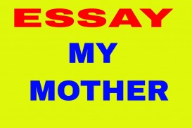 015 Maxresdefault Essay Example My Archaicawful Mother In English Wikipedia Mein Mom