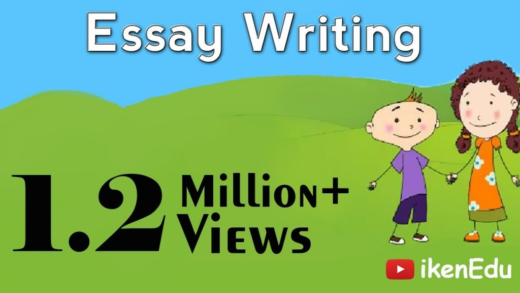 015 Maxresdefault Paragraph Essay Example For Sensational 3 Kids Large