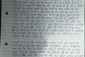 015 My Country Essay In Hindi Page201 Phenomenal 10 Lines Is Great