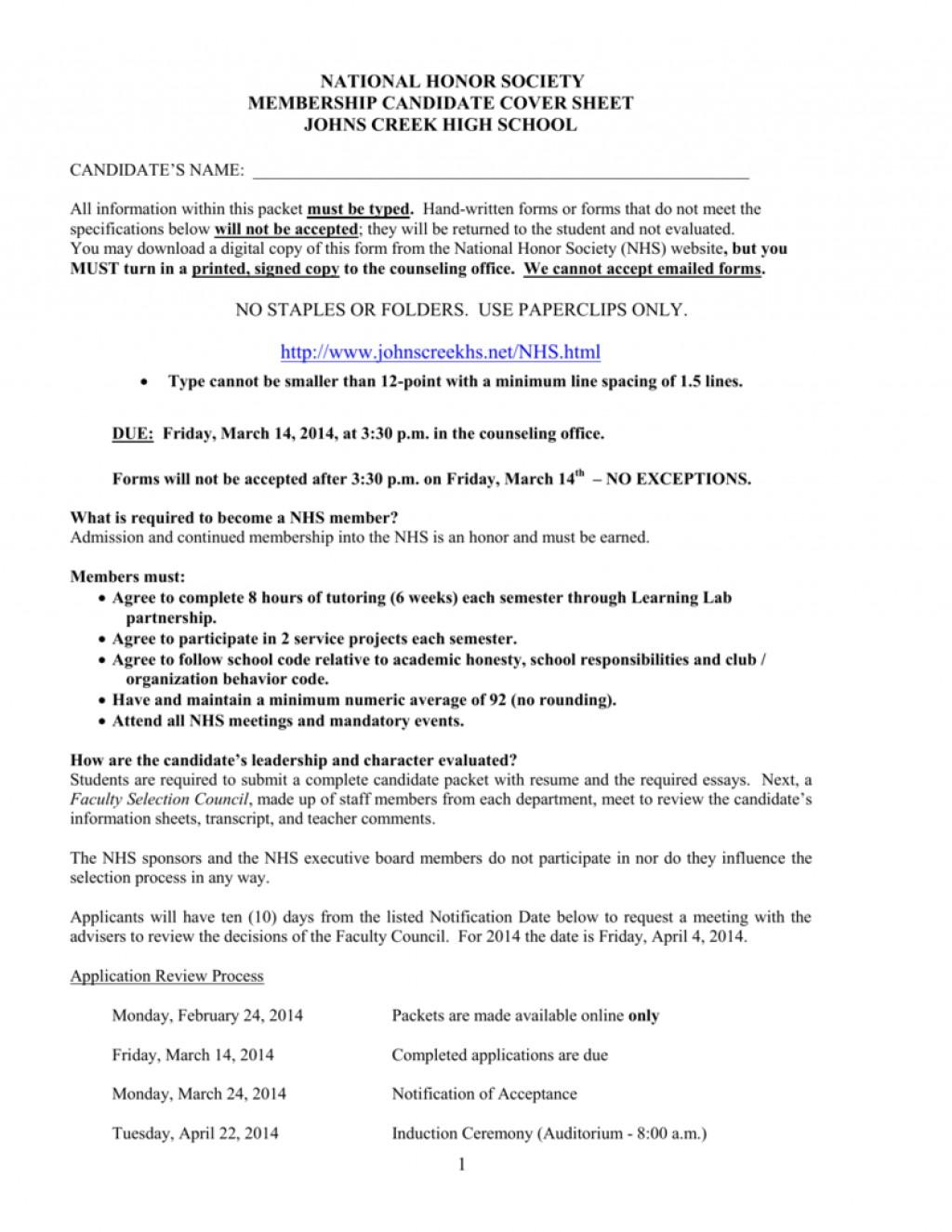 015 National Honor Society Application Essay 008823851 1 Sensational Junior Ideas Examples Large