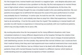 015 Nurse Practitioner Essay Nursing Schools Okl Writing Admission Mental Health Personal Stat Graduate Program Samples Format Impressive School Sample Prompts
