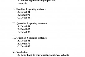 015 Outlining An Essay Best Exercise Outline Of Argumentative Classical Pattern