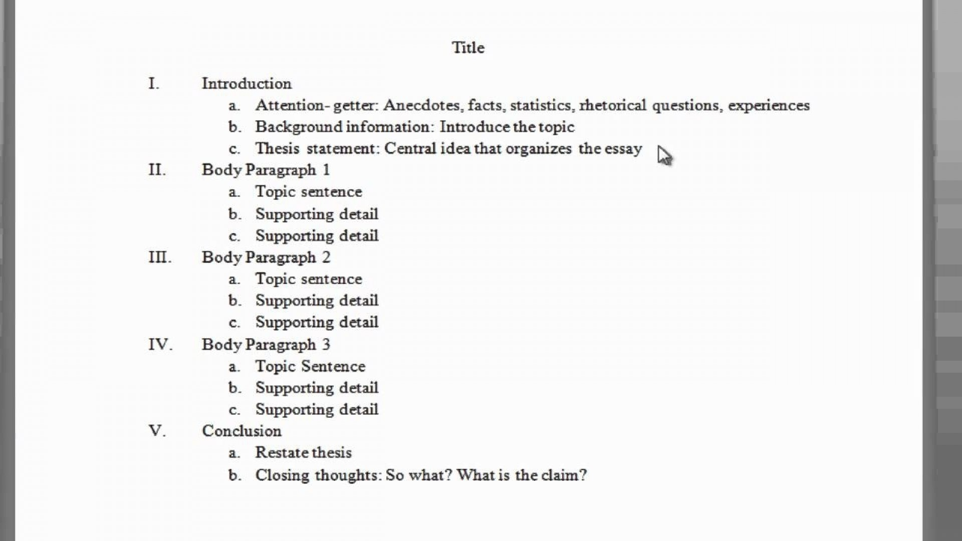 015 Paragraph Essay Structure Writings And Essays How To Start Body In An Argumentative Outline Youtube Intende Informative Third Expository Examples Narrative Analytical Persuasive Example Phenomenal What Is A Claim Meant By Brainly Opposing 1920