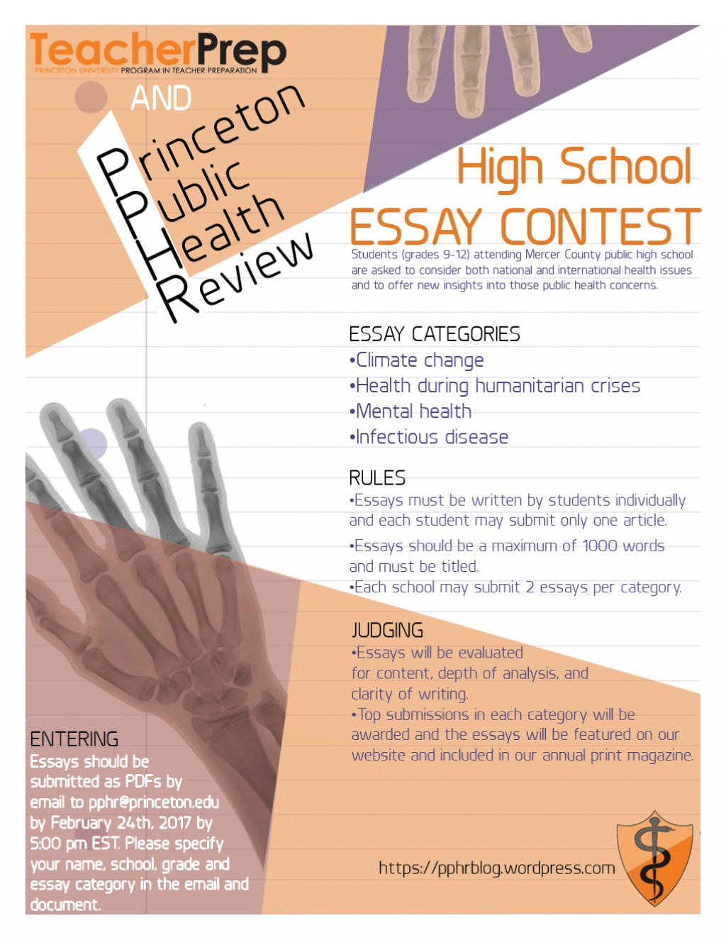 015 Princeton Essay Pphressaycontestfeb24 Astounding Review College Guide Graded Confidential Large