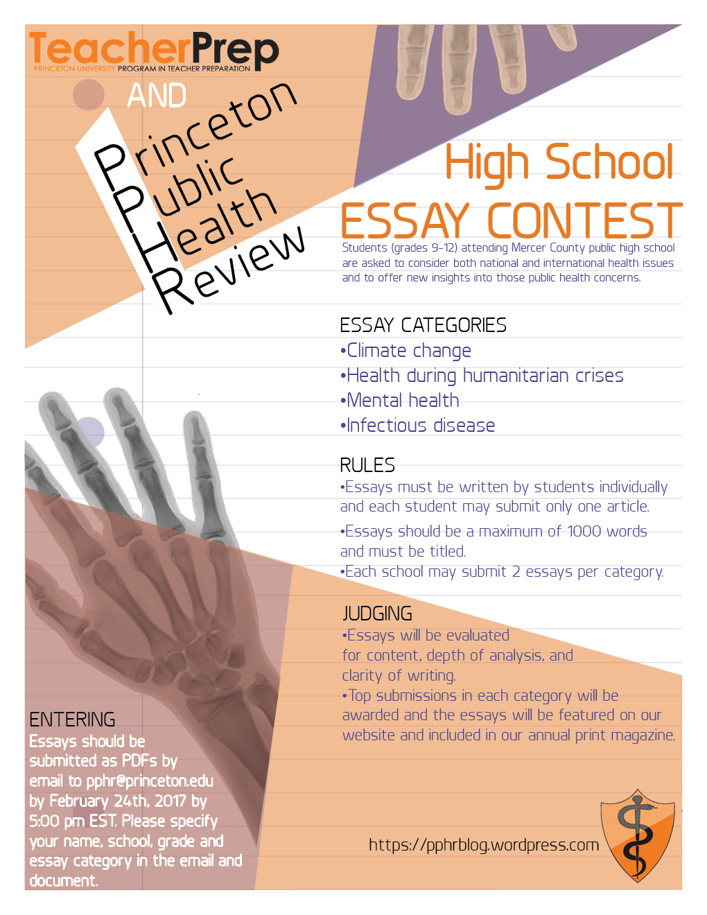 015 Princeton Essay Pphressaycontestfeb24 Astounding Review College Guide Graded Confidential Full