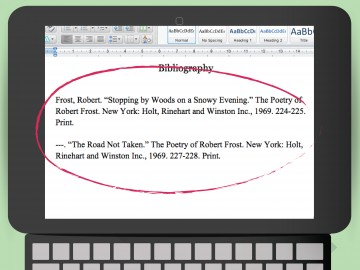 015 Quote And Cite Poem In An Essay Using Mla Format Step Version Example How Archaicawful To Referencing A Book Apa Style Text 360