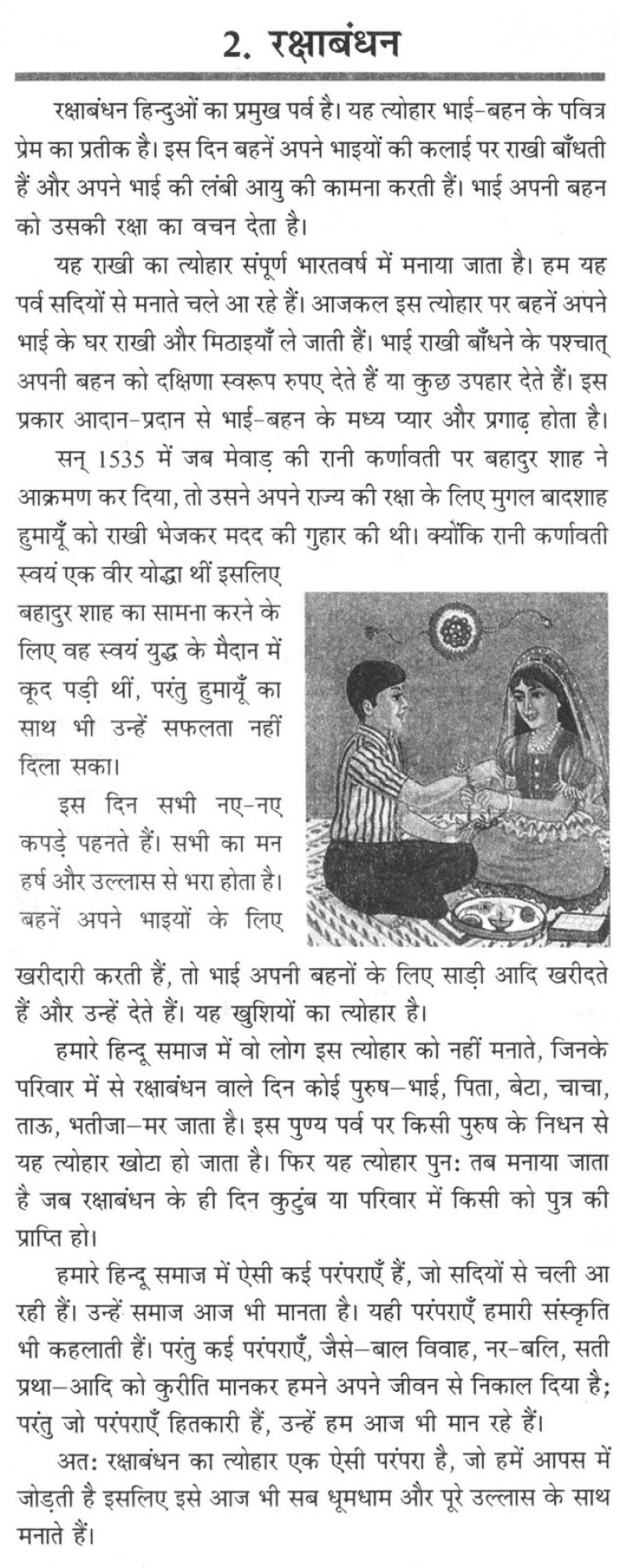 015 Raksha20bandhan20essay20in20hindi202016 Essay Example Good Habits In Exceptional Hindi Food Habit 728