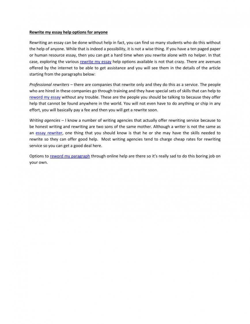 015 Reword My Essay Example Page 1 Unique Free