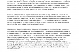 015 Scholarship Application Essay Example Sample Honors Program Staggering Mba Tips College Ideas 320