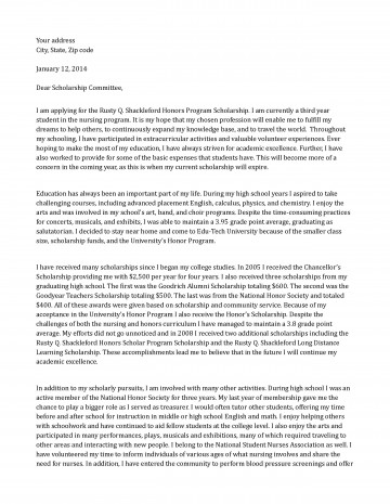 015 Scholarship Application Essay Example Sample Honors Program Staggering Mba Tips College Ideas 360