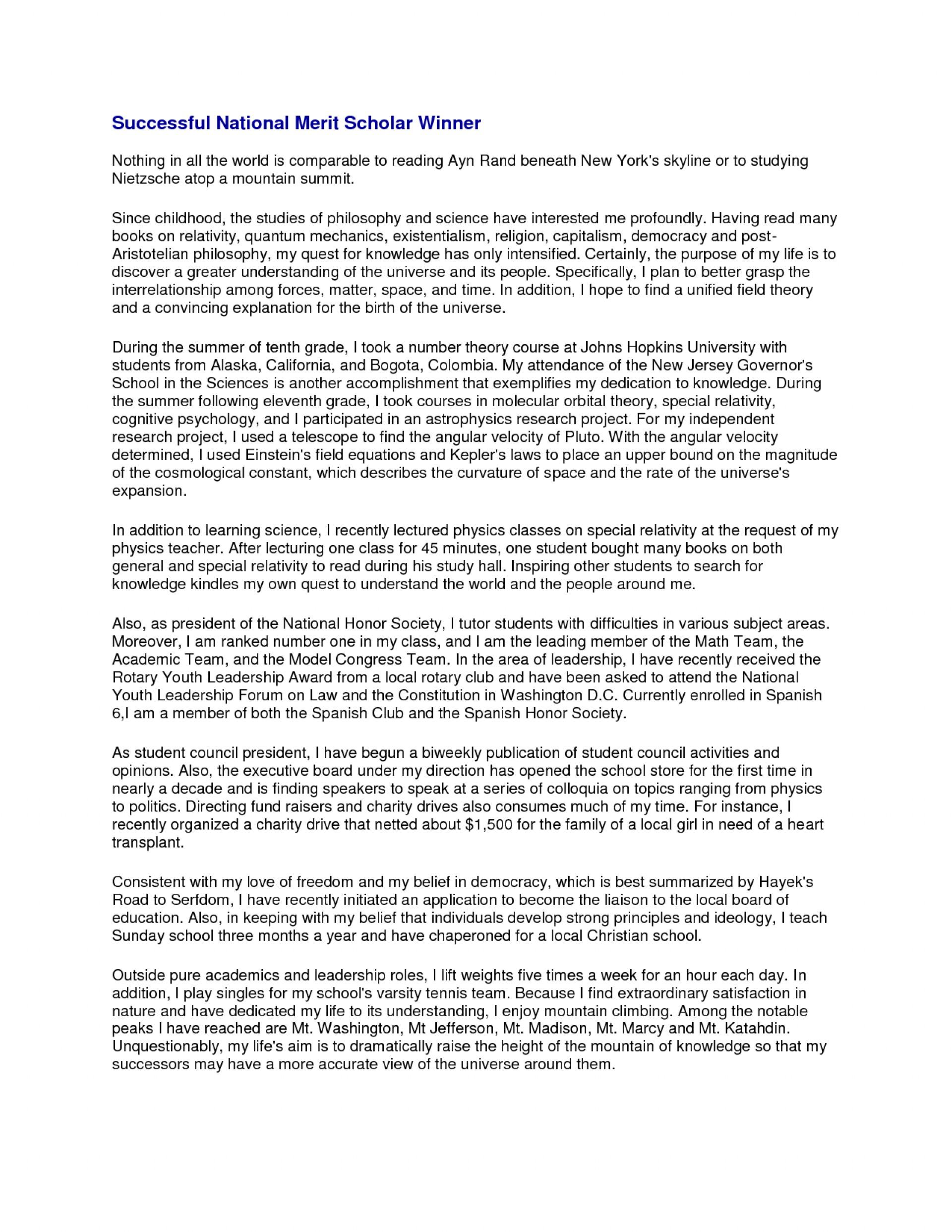 015 Scholarship Essay Sample Example Stunning Leadership For Mba 1920
