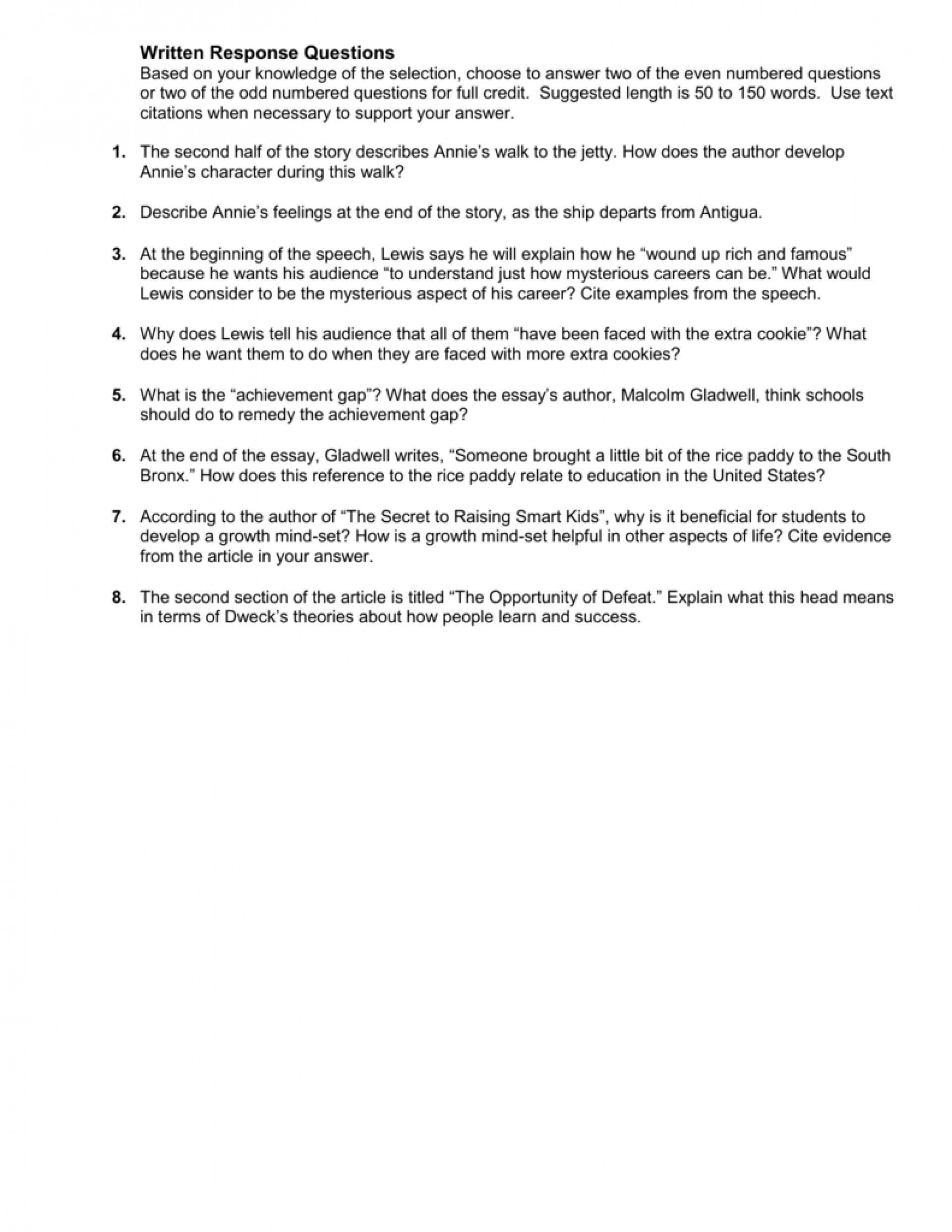 015 Success Definition Essay 007207601 1 Stirring Extended Personal Thesis Statement For 1920