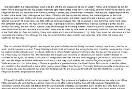 015 The Great Gatsby Essay Topics Example Loss Of American Dream Exceptional Literary Question Chapter 1