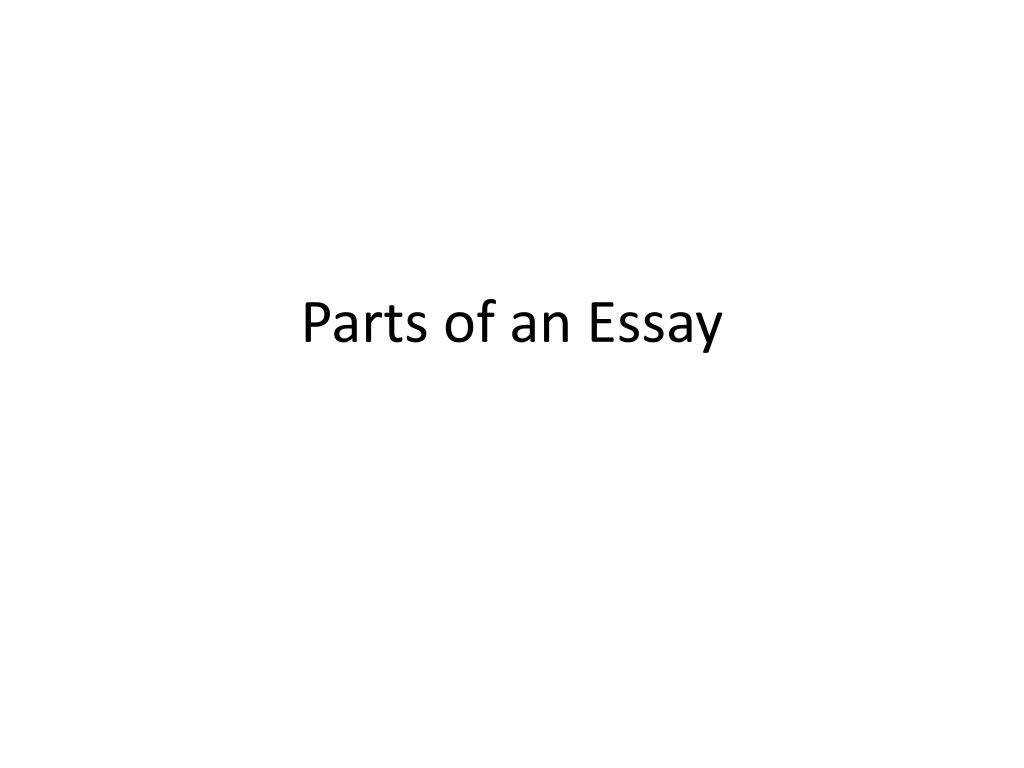 015 What Are The Parts Of An Essay L Striking Three Introduction Evaluative And Their Meaning Full
