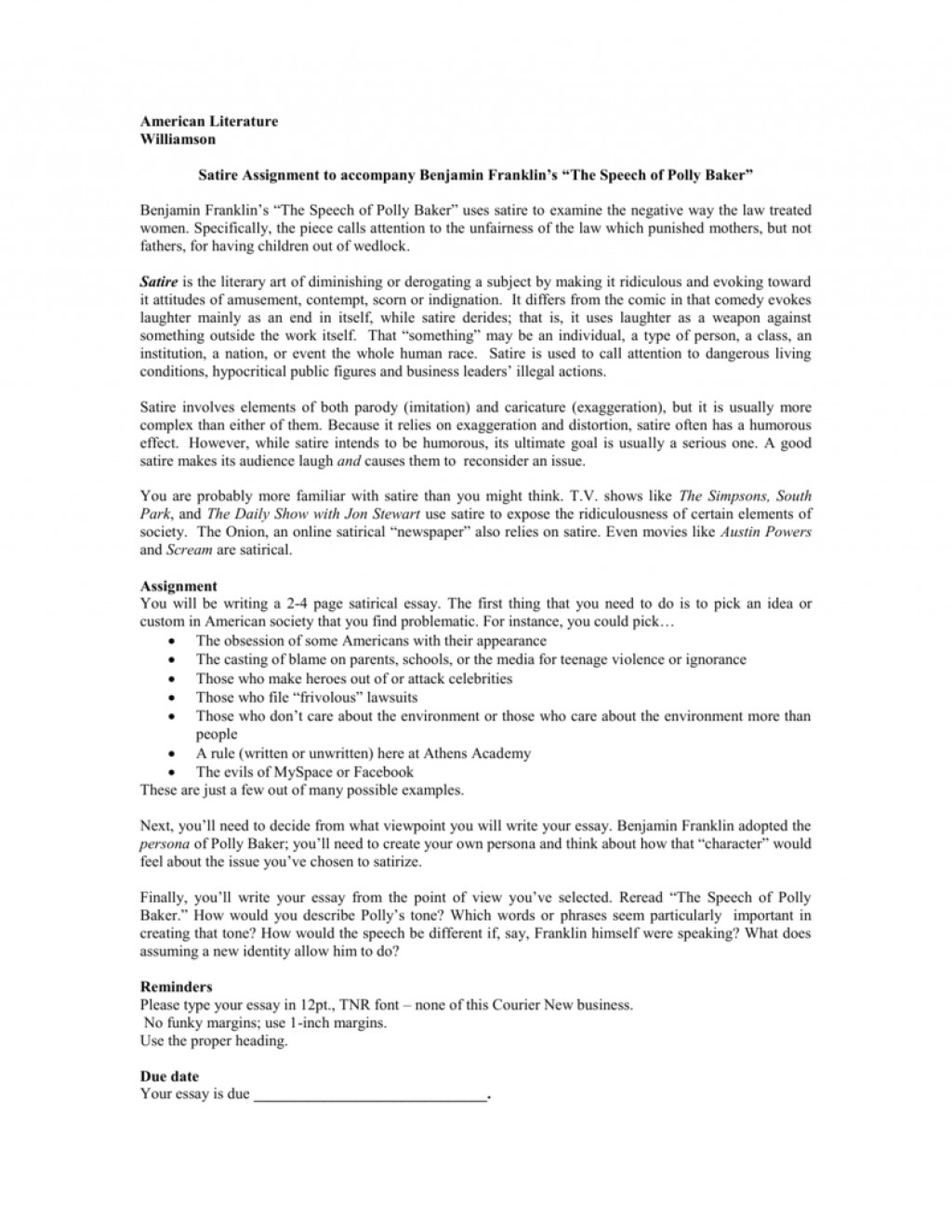 016 008005442 1 Essay Example How To Write Fascinating A Satire On Obesity Outline Essay-example Large