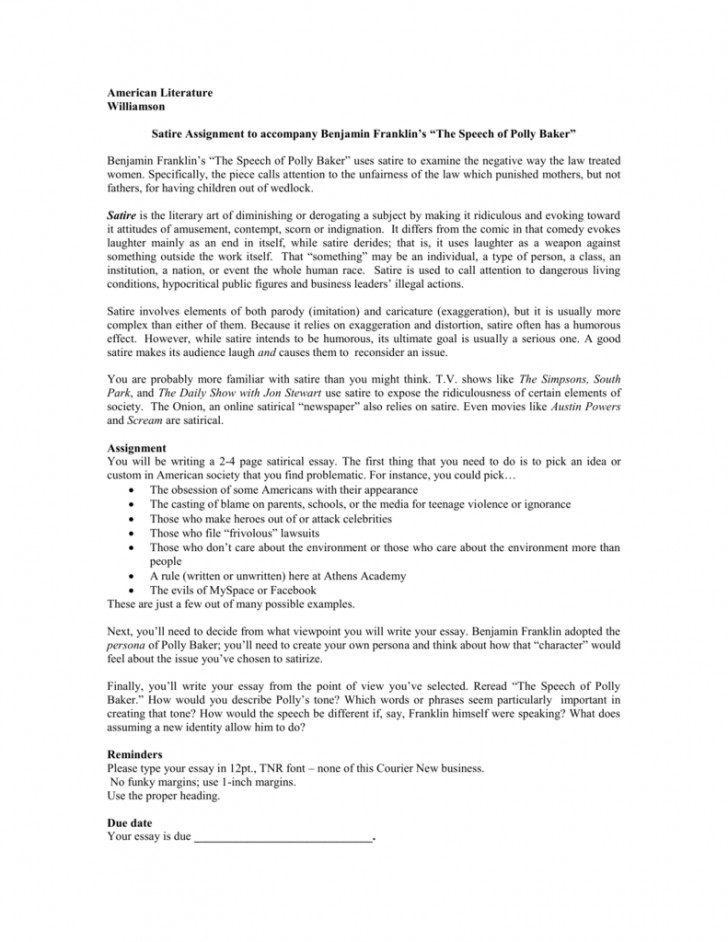 016 008005442 1 Essay Example How To Write Fascinating A Satire An Introduction For Essay-example On Obesity 728