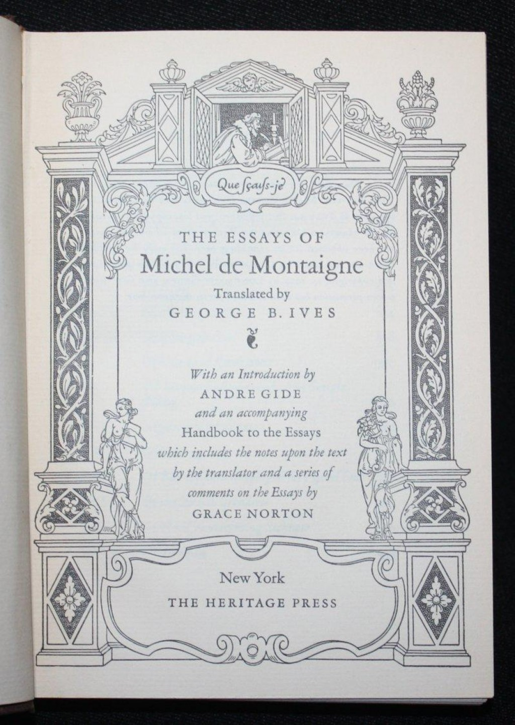 016 8892895374 4 Essay Example Montaigne Essays Astounding Summary On Idleness Cannibals Large