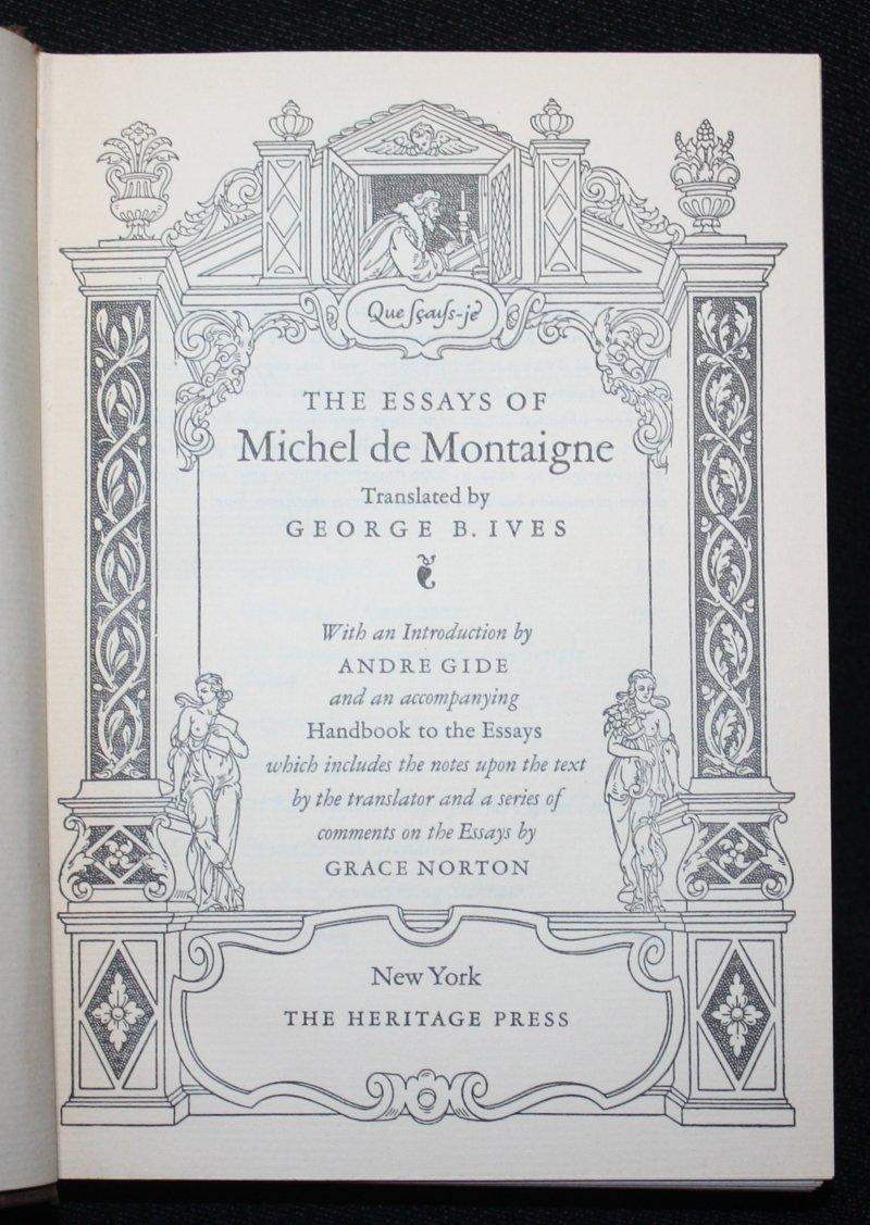 016 8892895374 4 Essay Example Montaigne Essays Astounding Summary On Idleness Cannibals Full