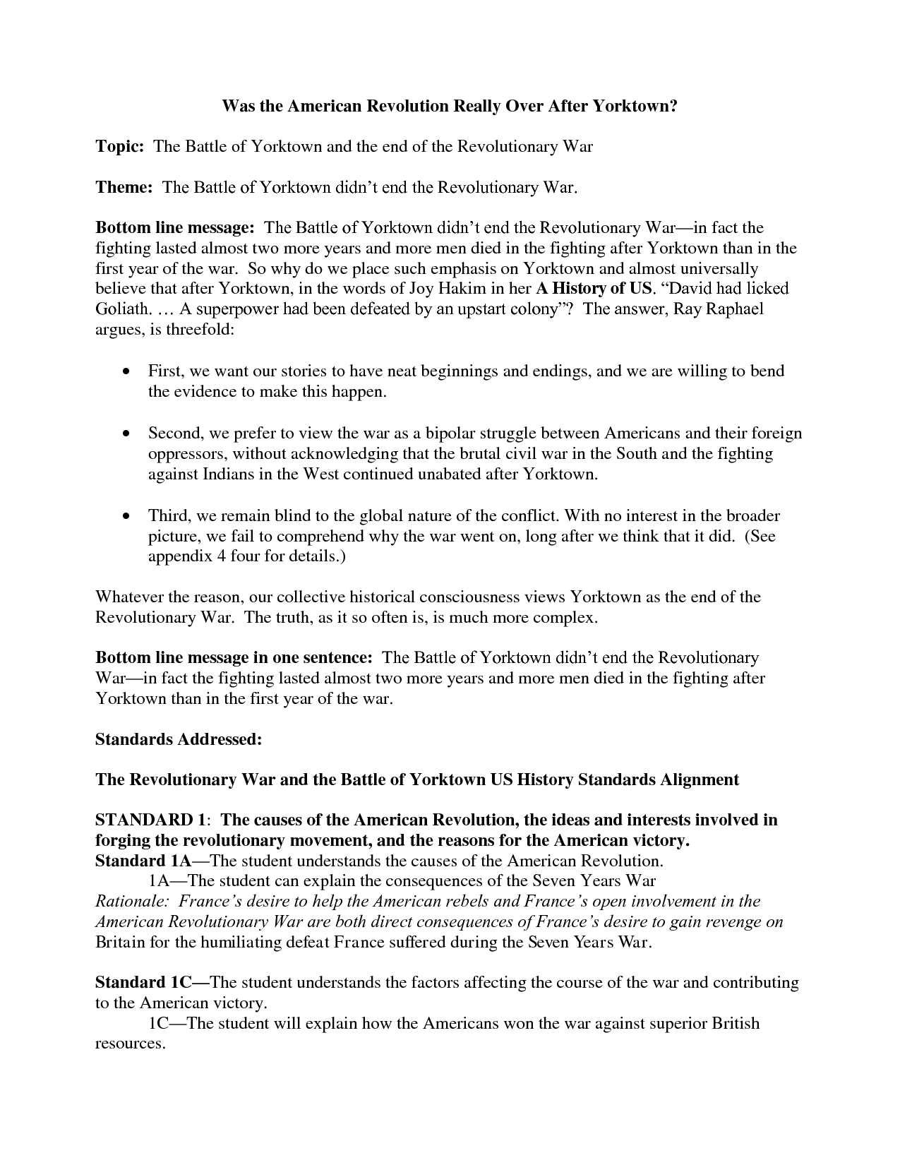 016 American Revolution Essay Timeline Worksheet 219650 Fascinating Causes Of The Conclusion Outline Introduction Full